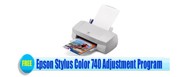 Epson Stylus Color 740 Adjustment Program