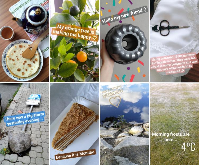 instagram stories september, instalige september, georgiana quaint, vogue cs, mbpfw
