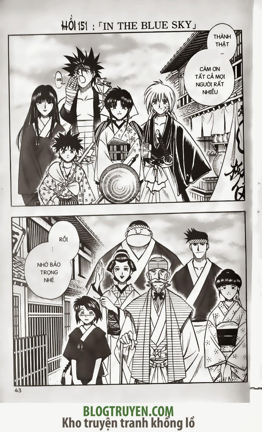 Rurouni Kenshin chap 150 trang 21