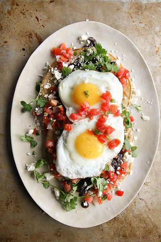 Brunch and Booze Book Club: April 2016 from Honey and Smoke Studio - Huevos Rancheros from Heather Christo