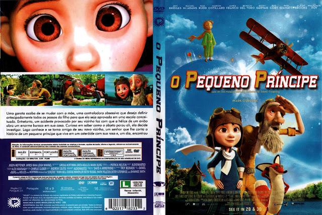 Capa DVD O Pequeno Príncipe