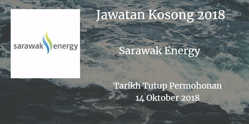 Jawatan Kosong Sarawak Energy 14 Oktober 2018