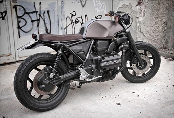 vintage racers custom bmw k75 by moto sumisura. Black Bedroom Furniture Sets. Home Design Ideas