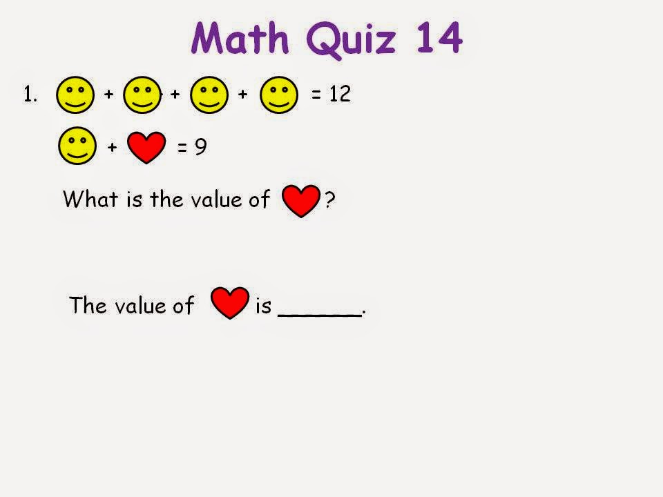 BGPS P2-6 2014: Math Quiz 14