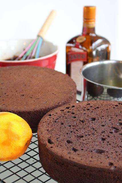 Grundrezept Motivtorte, Schokoladenkuchen, Kuchen, Kuchen für Motivtorte