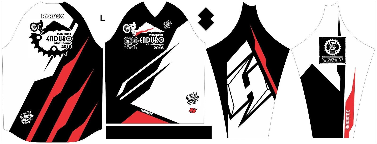 Nardex Mtb Fashion Di Olahraga Sepeda Baju Specialized Jersey Template Rinjani Enduro Challenge 2016 By Pattern Hardside Logo Rec Team