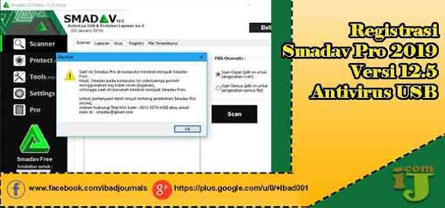 Registrasi Smadav Pro 2019 Versi 12.5 Antivirus Usb