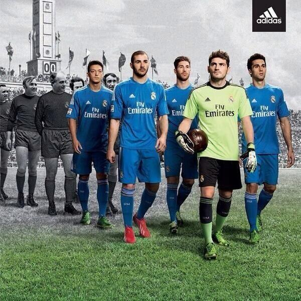 This is the new Real Madrid 2013-14 Away Kit made by adidas. 016829ed9