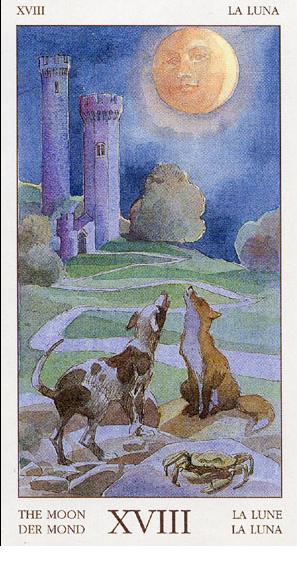 Meditación 4 con Tarot: La Luna