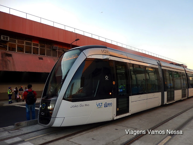 VLT em frente à Rodoviária Novo Rio