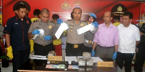 Polisi Ungkap Perdagangan Narkoba Lintas Provinsi dan Jaringan Lapas