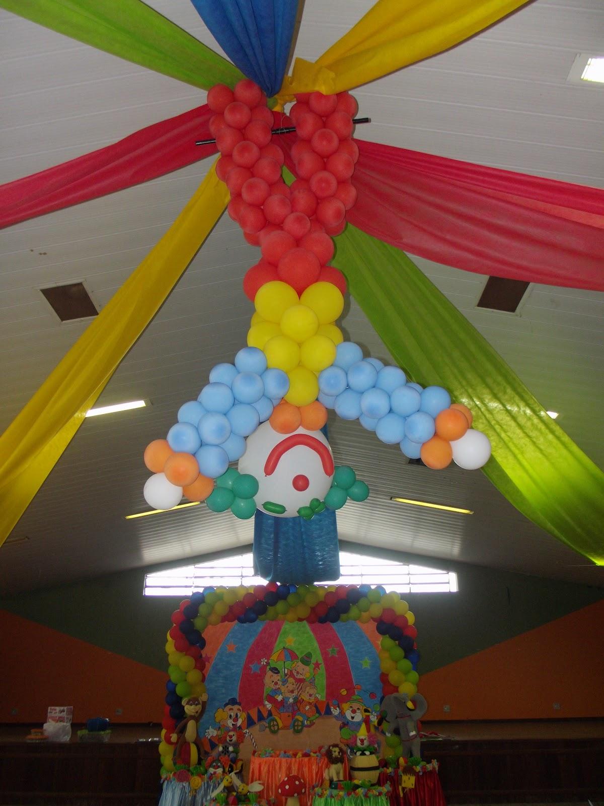 T&A Festas e Decorações DECORA u00c7ÃO DE ANIVERSÁRIO DO CIRCO