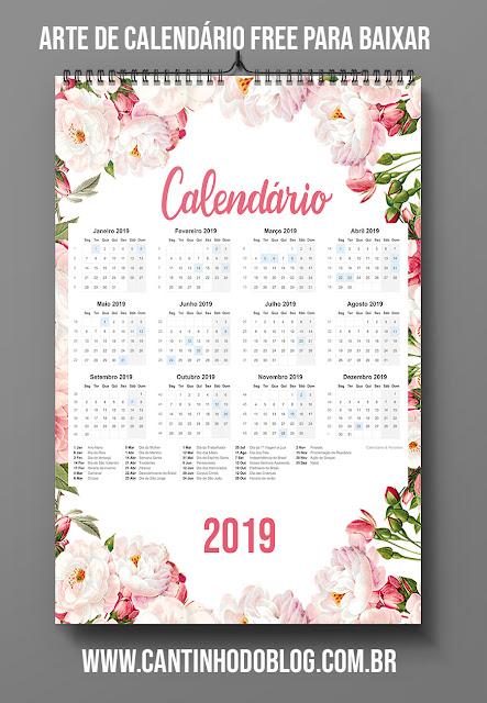Calendar Templates Html : Caléndário grátis para baixar e imprimir modelo