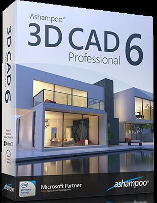 Ashampoo 3D CAD Professional 6.1.0 poster box cover