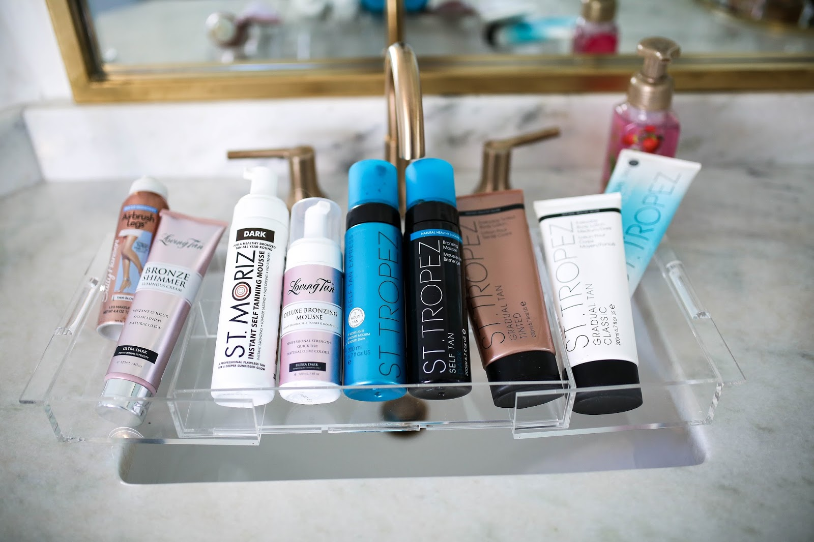 The Ultimate Self Tanning Routine and Best Tanning Products featured by top US beauty blogger, Emily Gemma of The Sweetest Thing.