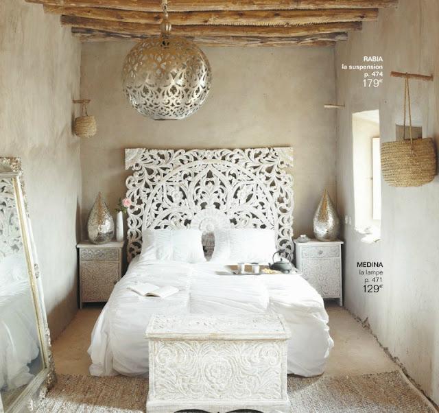 tete de lit new york maison du monde. Black Bedroom Furniture Sets. Home Design Ideas