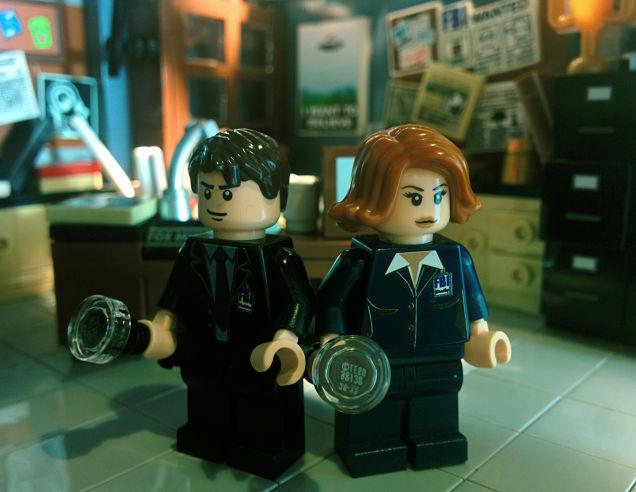 X-Files Lego