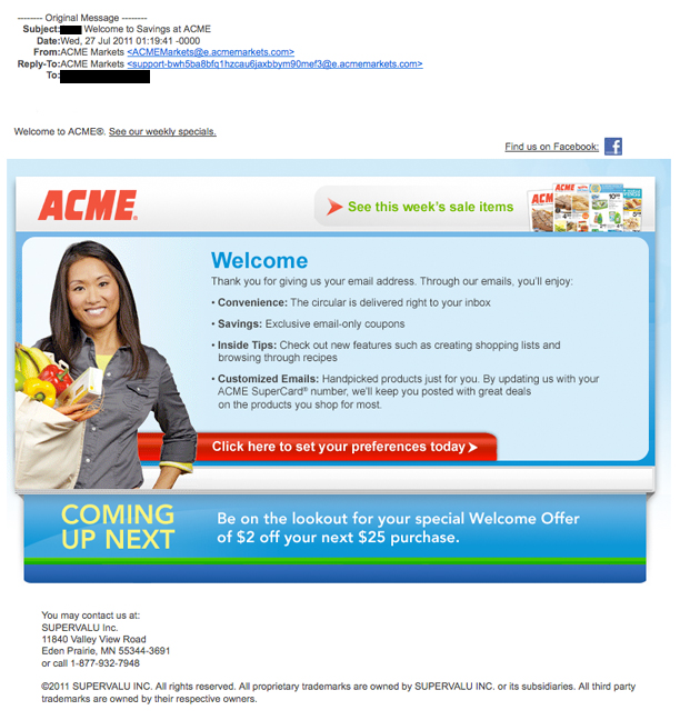 Acme dating service