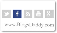 Labnol Like Social Subscription Buttons For Blogger Blog