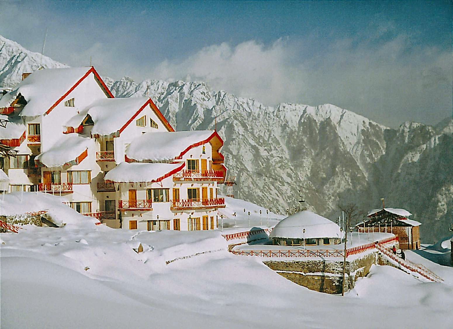 Image result for auli snowfall hd