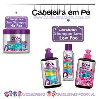 Diva de Cachos - Niely (Óleo Turbinado, Creme Para pentear tubinado e Creme para Pentear POP liberados para Low Poo - Gelatina Mix liberada para No Poo)