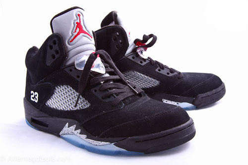 best service 25190 8d90b Wake'N'Lace: Air Jordan 5 Black/Metallic Silver