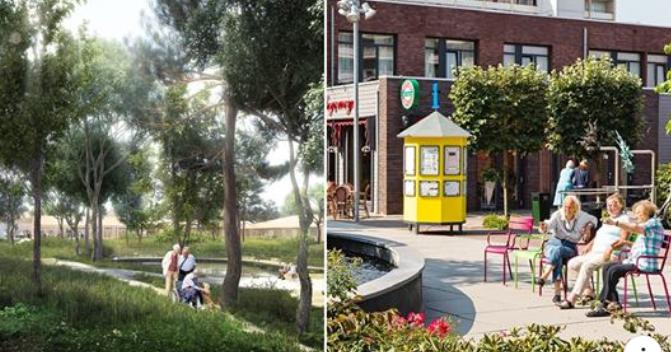 Το πρώτο «χωριό» στην Ευρώπη για ασθενείς με Αλτσχάιμερ. Θα τριγυρνούν ελεύθεροι και δεν θα παίρνουν φάρμακα