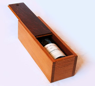 oak wood wine box