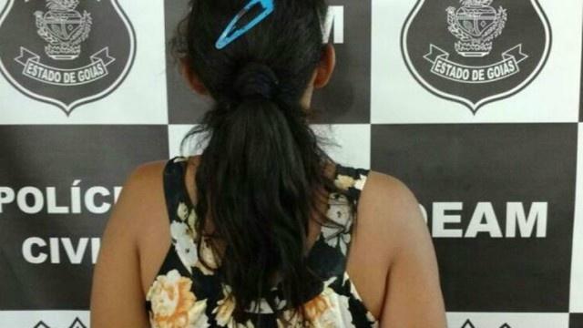 No Goiás mulher é presa acusada de permitir que a filha de 11 anos fosse abusada