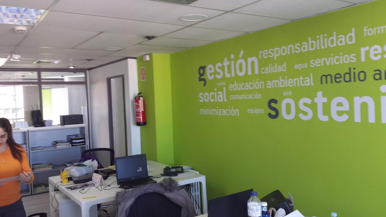 Sm sistemas medioambientales nueva oficina en madrid for Oficinas ing en madrid