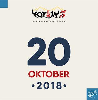 jadwal toraja marathon 2018
