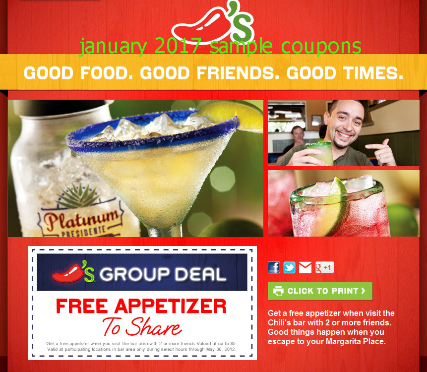 Chilis online coupons