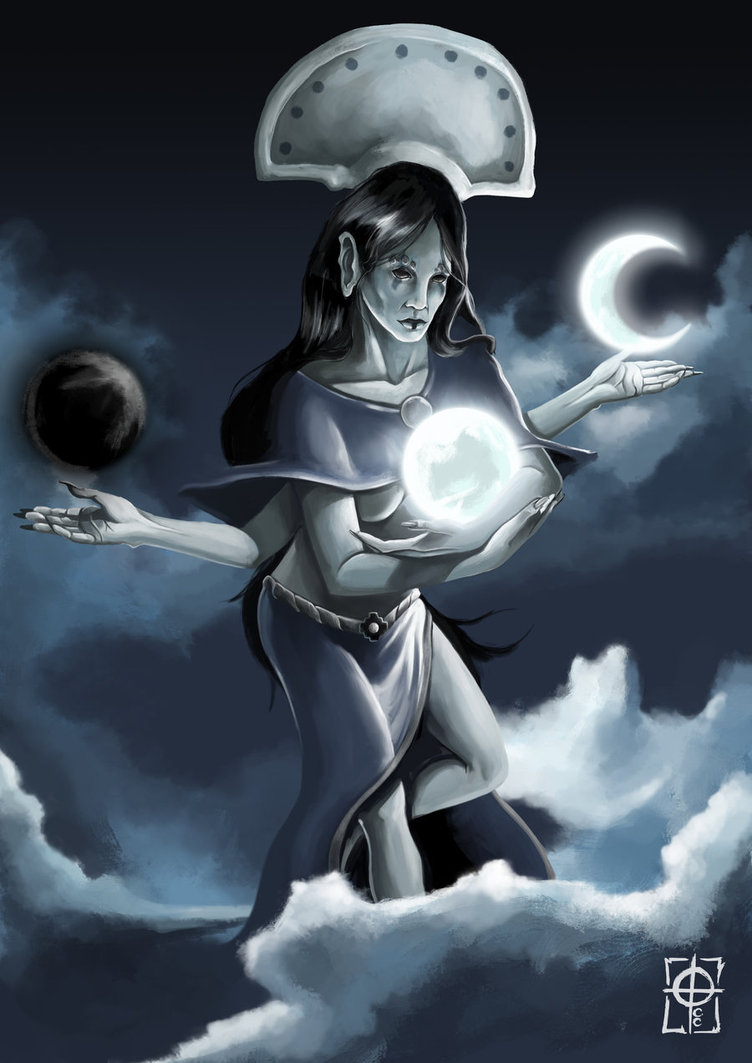 Resultado de imagen de Mama Quilla, Diosa Inca de la luna