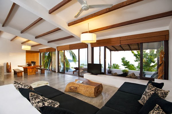 design interieur tropical