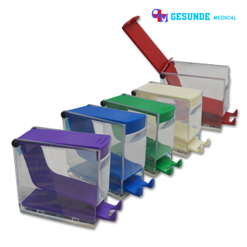 Dispenser Kapas Roll Aneka Warna | Dental Cotton Roll Dispenser