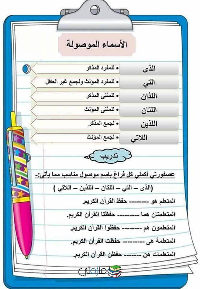 كتاب اللغة العربية للأطفال pdf