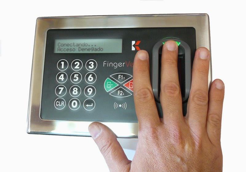 Accesos con biometria vascular FingerVein