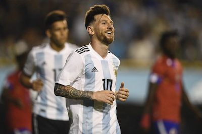 Argentina golea a Haiti
