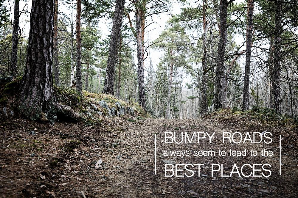 tie, luonto, nature, quote, road, bumpy, life, valokuvaus, Visualaddict, valokuvaaja Frida Steiner, espoo