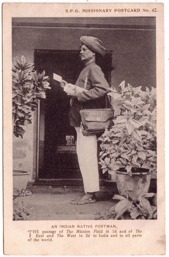 An Indian Native Postman