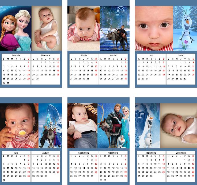 calendar A4 SILVER