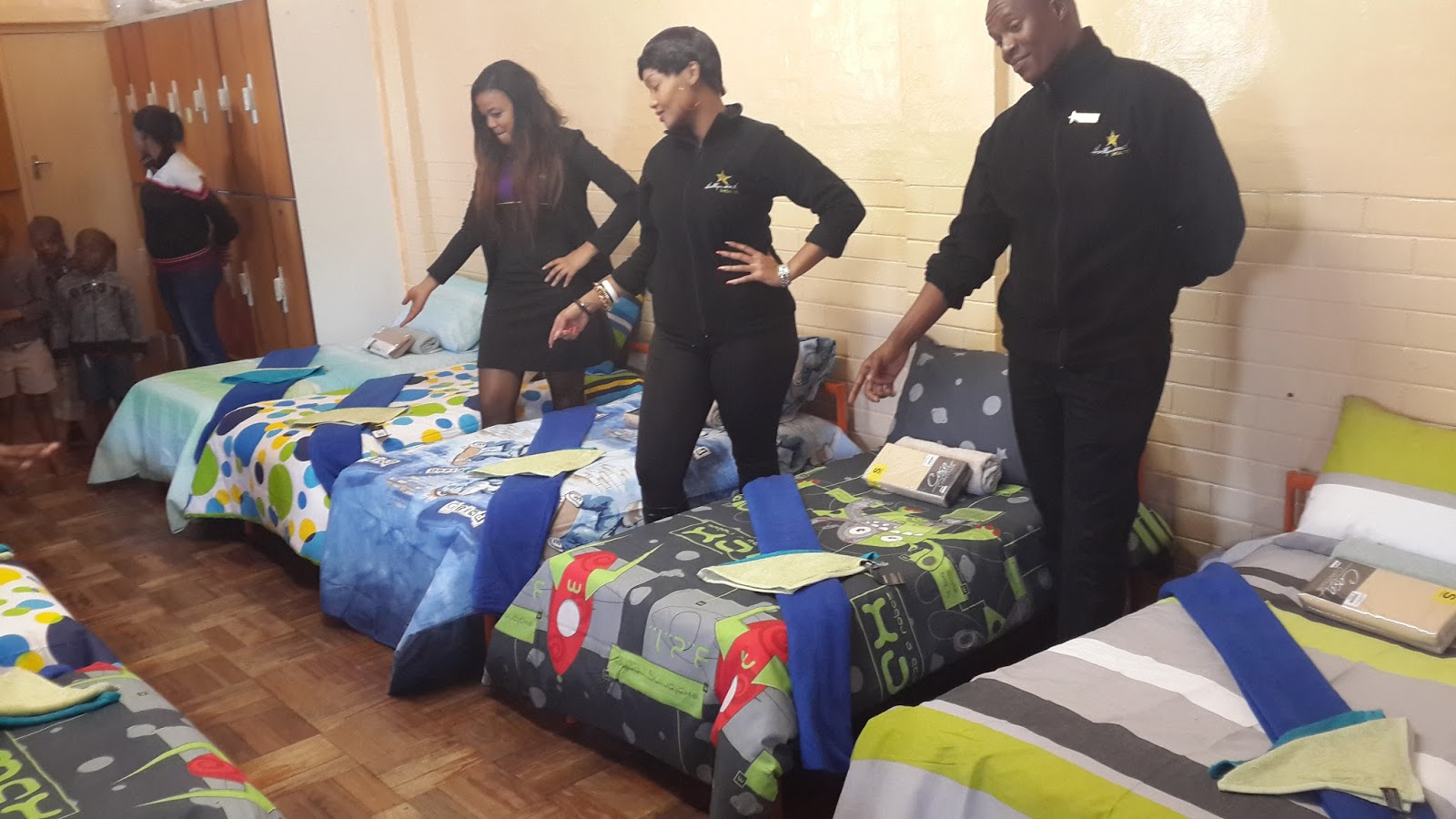 Hollywoodbets Argyle helped brighten the lives of the kids at St Thomas' Home for Children