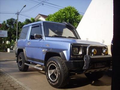 daihatsu ferosa 1994 modifikasi