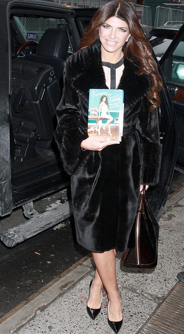 Teresa Guidice está vendendo seu livro triste