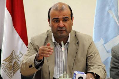 ننشرصورة نص استقالة وزير التموين ''مكتوبة بخط يده''