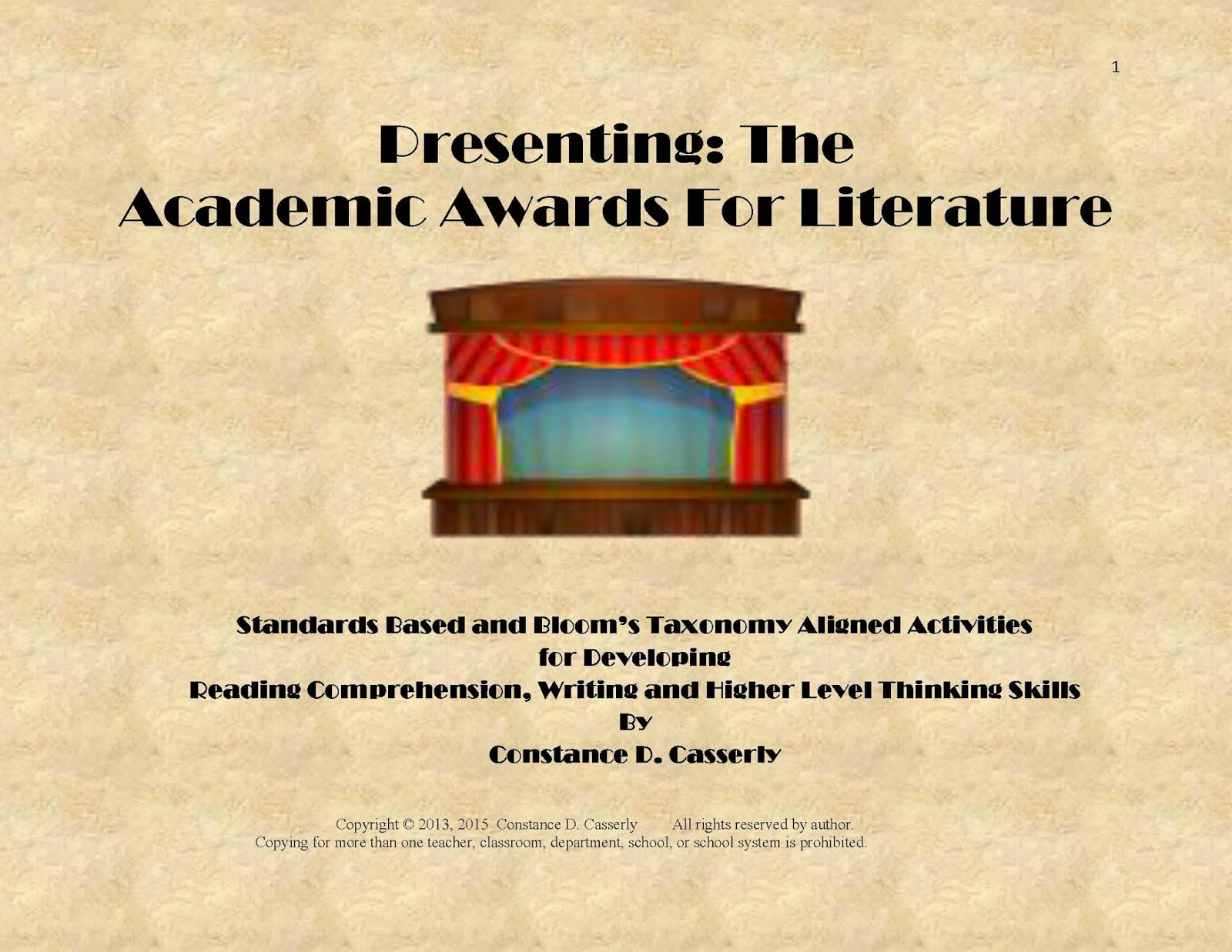 awards for literature