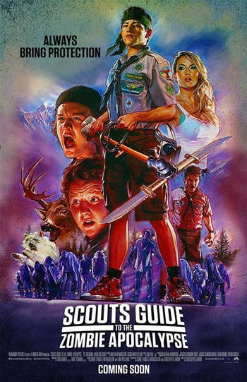 Scout's Guide to the Zombie Apocalypse DVDRip Latino