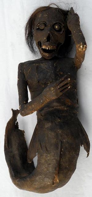 mumi putri duyung yang paling menyeramkan dan mengerikan di dunia-9