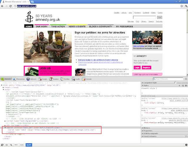 Human Rights organisation website Serves Gh0st RAT Trojan