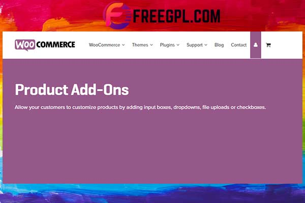 WooCommerce Product Add-ons Free Download